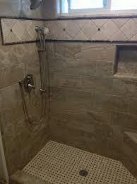 Shower Corner Bench Helfrich Construction Inc San Diego Home Remodel Redesign