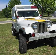 jeep brush truck fire police industry vehicles ewillys