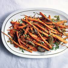 roasted carrots with citrus dressing recipe myrecipes