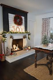 beautiful christmas mantels eighteen25