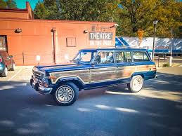 classic jeep wagoneer 1987 jeep grand wagoneer photo gallery my jeep and me