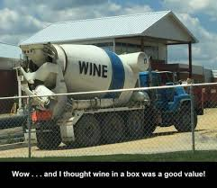 Mixer Eyes Meme - cement mixer truck with wine written on the side justpost