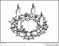 advent wreath coloring page download coloring pages 8600