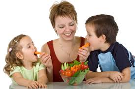Kids Eating Table Encourage Kids To Eat Healthy Foods Content Group Profile Extension