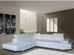 canapé simili blanc canapé d angle xl en simili noir blanc ou taupe