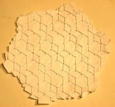 Origami Tessalation - folding a flagstone tessellation origamijoel