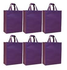 purple gift bags cyma reusable gift bags medium 6 bag set cyma bags