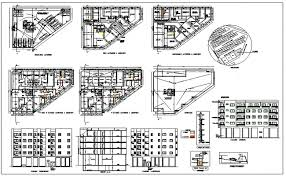 floor plan of a commercial building building floor plan detail and elevation view detail dwg file