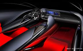 lexus interior 2012 the lf sa is lexus u0027 freakish answer to mini car interiors