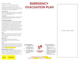 Fire Evacuation Plan Template For Home by Fire Evacuation Signs U2013 Sable Printers