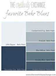 benjamin moore gray and blue paint samples for the interior of the