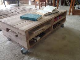 coffee table with caster wheels top diy pallet coffee table on wheels 99 pallets les proomis about