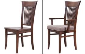 Made Dining Chairs Made In Canada Solid Wood Furniture
