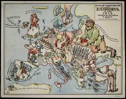 Map Of Europe 1600 Historiana