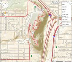 Elevation Map Of The United States by Switching Map Styles Ride With Gps Help