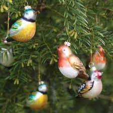 wee finds baubles bird decorations bird and decoration