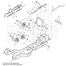 simplicity subframe u0026 hitch for snow blowers simplicity 1695196