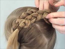 large hair pleats criss cross braids for ballet youtube