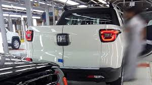fiat toro fiat toro photographed on the assembly line