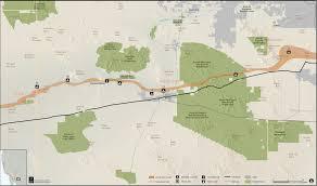 Buckeye Trail Map Anza Trail Guide Maricopa