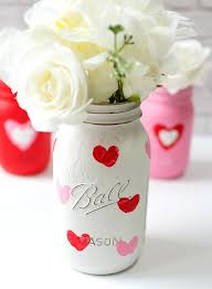 valentine kid craft thumbprint heart jars it all started with paint
