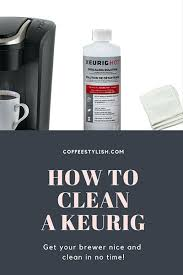 Keurig Descale Light How To Clean A Keurig Weekly Cleaning Routine