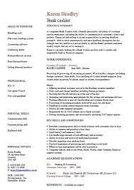 Sample Cashier Resume by Graduate Financial Advisor Cv Bank Cashier Cv Template Work