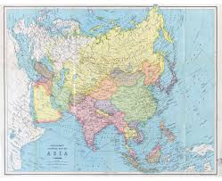 A Map Of Asia by Old Maps Of Asia Collection Of Detailed Old Maps Of Asia