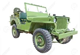 ww2 jeep world war 2 era us army jeep with machine gun stock photo picture