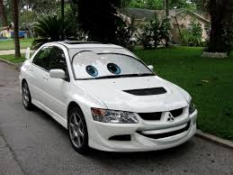 cars movie car mitsubishi lancer evolution disney pixar cars movie car