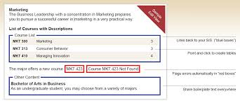 List Of Flags Courseleaf Catalog U003c Academic Catalog Management Leepfrog