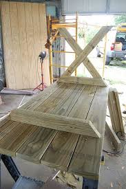 Build Your Own Wooden Patio Table by Tips For Making Your Own Outdoor Furniture Diy Outdoor Table