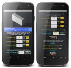 How To Calculate Cubic Yards Of Gravel Concrete Calculator Free Android Apps On Google Play
