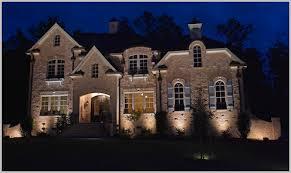 Manor House Landscape Lighting Inviting Manor House Landscape Lighting Enhance Impression