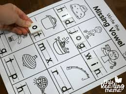 write the missing vowel worksheets cvc words this reading mama