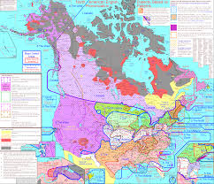 Map Of Canada And Usa by Look Amazing Interactive Map Shows Every Local Dialect In The