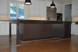 beadboard kitchen island gorgeous putting beadboard on kitchen island with dome pendant