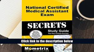 download national certified medical assistant exam secrets study