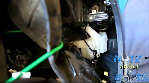 2003 2007 honda accord windshield washer pump remove u0026 install