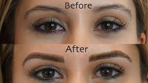 Eyebrow Tattoo Before And After Microblading Eyebrows See My Before And After Results Youtube