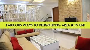 Living Room Tv Cabinet Interior Design Fabulous Ways To Designs Your Living Area U0026 Tv Unit Interior