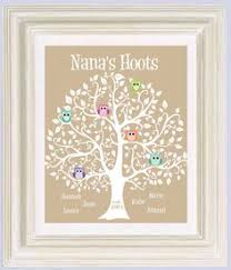 gifts for grandmothers gift family tree personalized gift for grandmother
