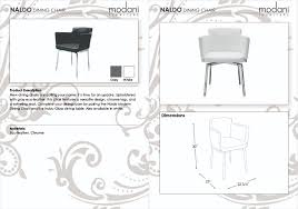 Dining Room Table Clipart Black And White Naldo Modern Dining Chair With Arm Rests White Leatherette