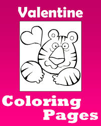 valentine s day coloring pages free printable valentine s day