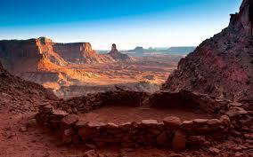 Utah travel wallpaper images False kiva canyonlands national park utah full hd wallpaper and jpg