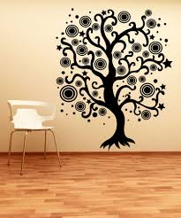 jungle tree removable wall art stickers kids nursery vinyl decals swirl designs stickerbrand wall art decals wall graphics and