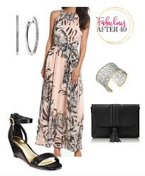 are maxi dresses appropriate for an afternoon wedding