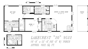 Mobile Home House Plans Floor Lakecrest Heritage Center Manufactured Homes 13