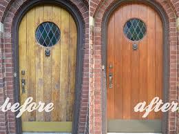 Refinish Exterior Door Refinishing My 81 Year Front Door Doors Wood Front Doors