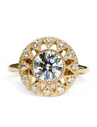 engagement rings nyc artistic diamond engagement ring in yellow gold